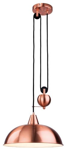 Firstlight 2309CP Brushed Copper Century Rise & Fall Pendant